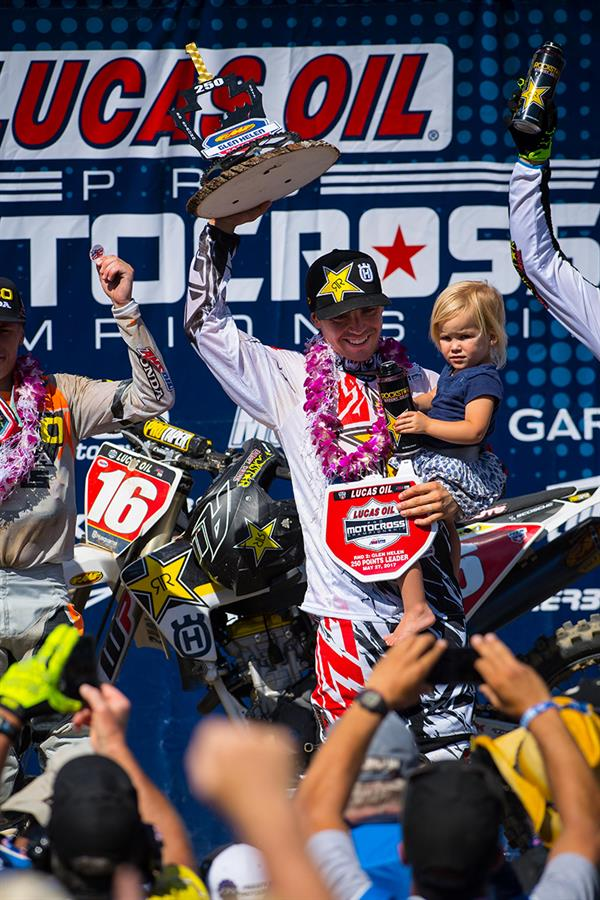 OSBORNE EARNS SECOND CONSECUTIVE VICTORY AT GLEN HELEN NATIONAL!