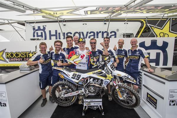 Max Anstie and Thomas Covington shine for Husqvarna in Lombardia