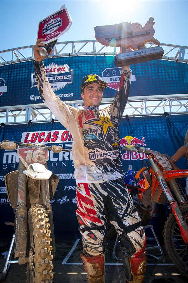 Zach Osborne claimed another victory on Saturday at the historic RedBud National! (Photo: Simon Cudby)