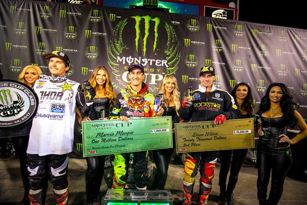 DOUBLE PODIUMS IN LAS VEGAS FOR ROCKSTAR ENERGY HUSQVARNA FACTORY RACING!