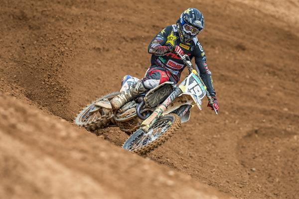 THOMAS KJER-OLSEN RETURNS TO THE MX2 PODIUM