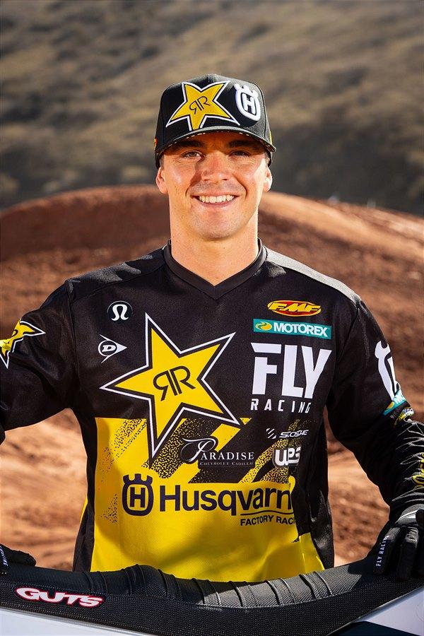Rockstar Energy Husqvarna Factory Racing's Zach Osborne (Photo_ Simon Cudby)