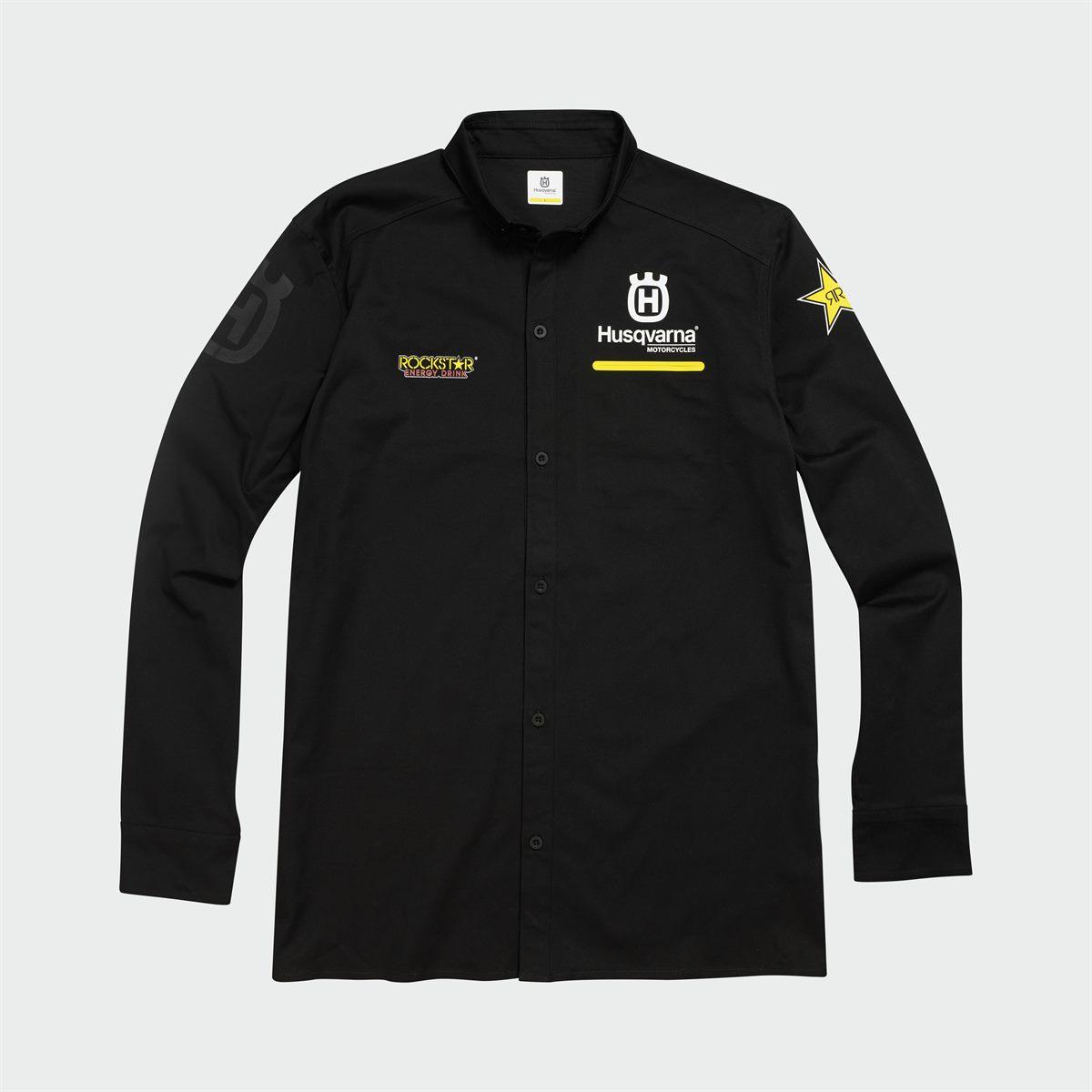 NEW Husqvarna Replica Team Shirt All Sizes Rockstar Edition