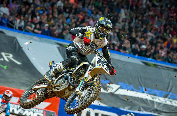 ROCKSTAR ENERGY HUSQVARNA CLAIMS A PAIR OF TOP-TEN FINISHES IN ATLANTA