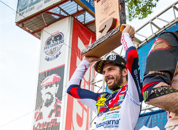 JASON ANDERSON PODIUMS AT REDBUD