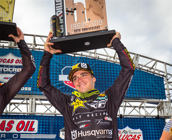 Husqvarna Scores 450 Podium at Unadilla