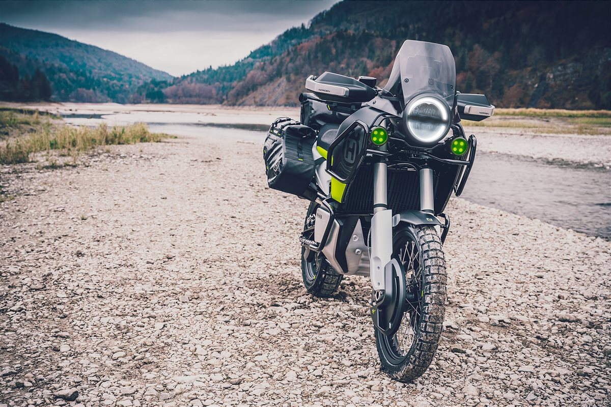 HUSQVARNA MOTORCYCLES TO LAUNCH FIRST TRAVEL MOTORCYCLE