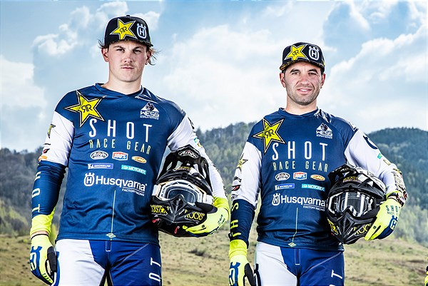 Billy Bolt, Alfredo Gomez – Rockstar Energy Husqvarna Factory Racing