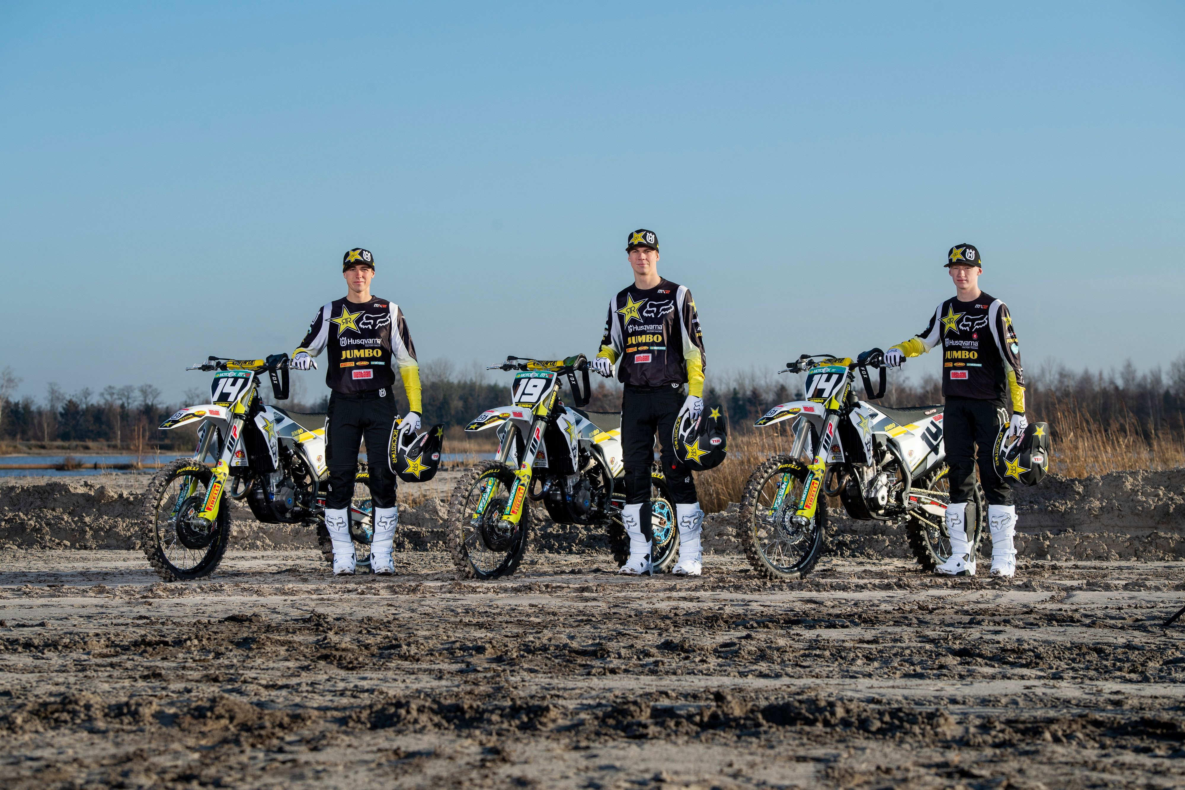 OFFICIAL IMAGERY – ROCKSTAR ENERGY HUSQVARNA FACTORY RACING 2020 MX2 TEAM