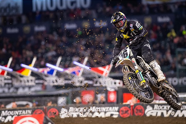 TOP FIVE FINISHES FOR THE ROCKSTAR ENERGY HUSQVARNA TEAM AT A2 SX