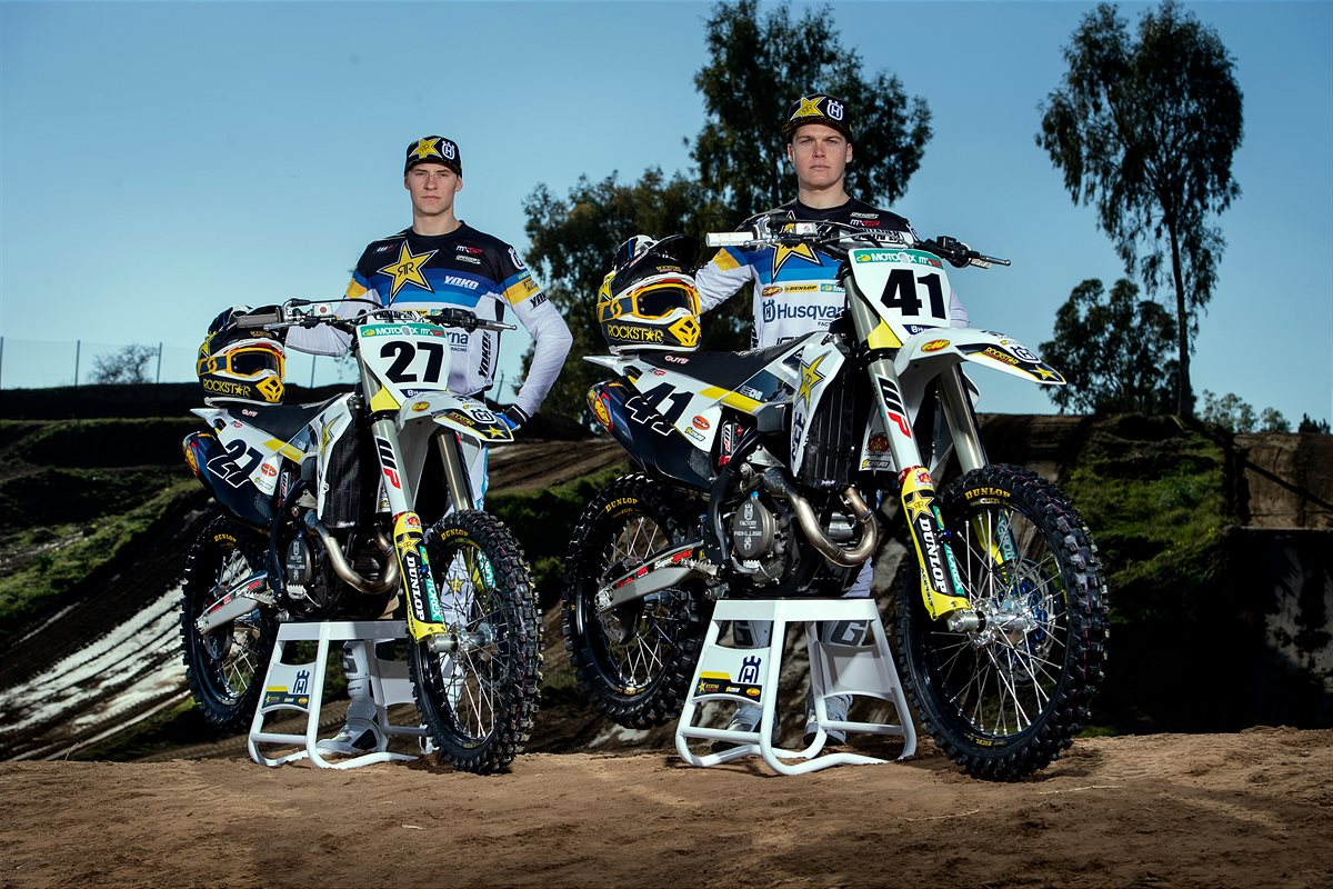 OFFICIAL IMAGERY – ROCKSTAR ENERGY HUSQVARNA FACTORY RACING 2020 MXGP TEAM