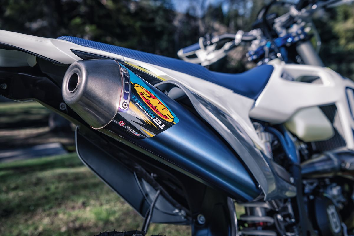 HUSQVARNA MOTORCYCLES' FMF EXHAUST SYSTEMS
