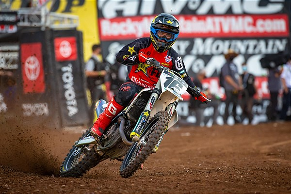 HUSQVARNA FACTORY RACING TEAM CAPTURES TOP-FIVE FINISHES AT SX ROUND 15