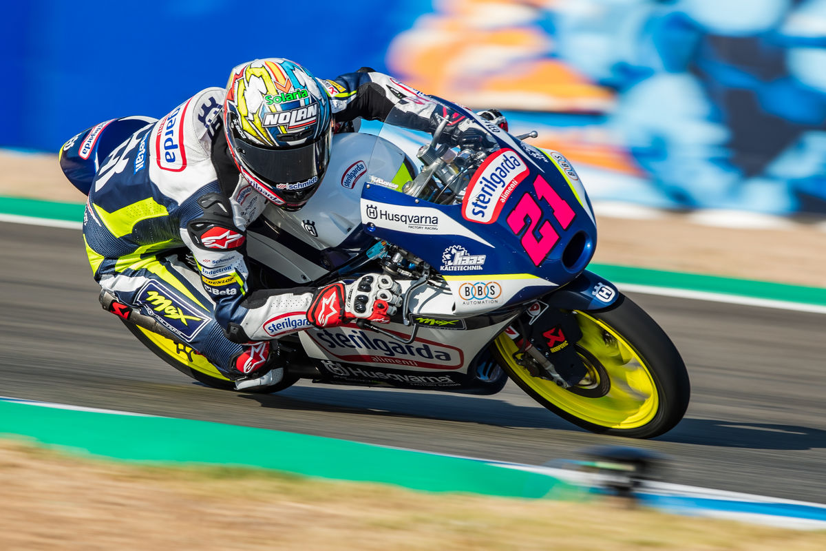Alonso Lopez 2020 Moto3 Andalucia