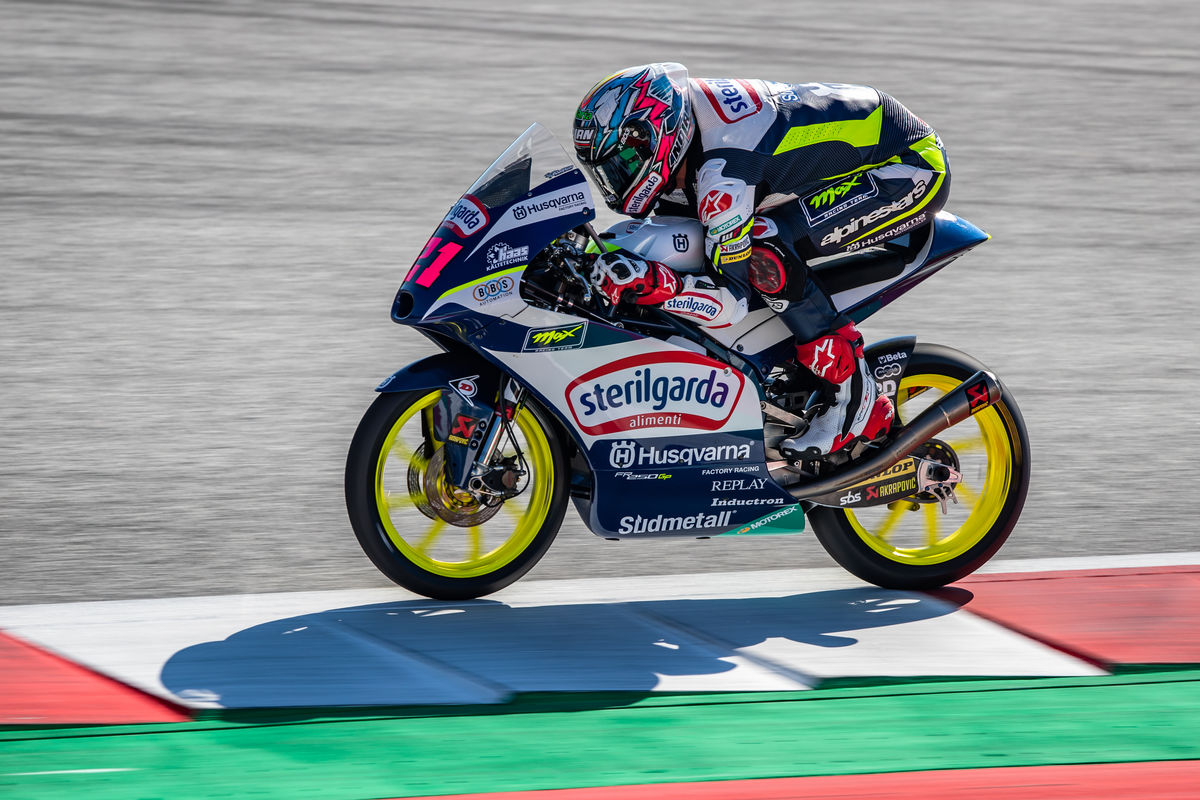 Alonso Lopez 2020 Moto3 Red Bull RingStyria