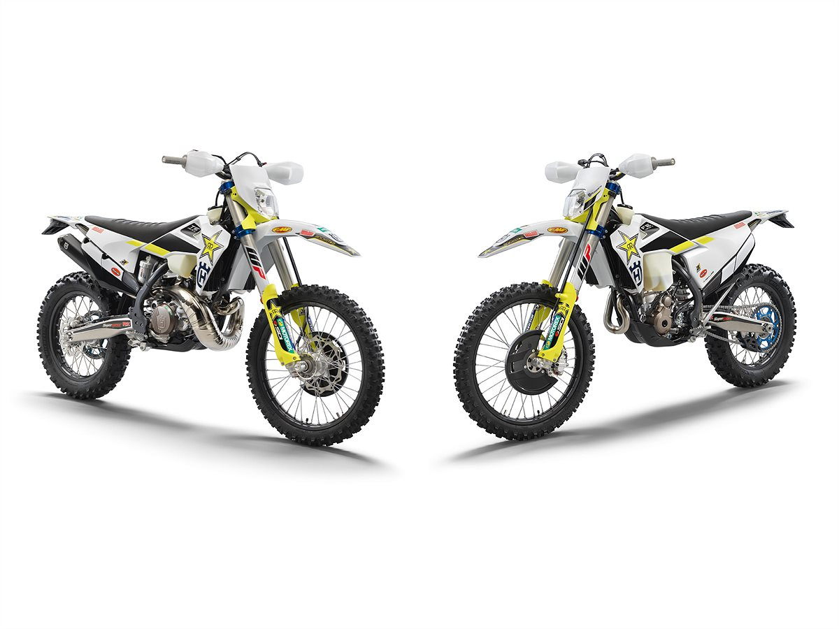 MASTER THE TOUGHEST TERRAIN - ALL-NEW TE 300i AND FE 350 ROCKSTAR EDITION MODELS AVAILABLE NOW