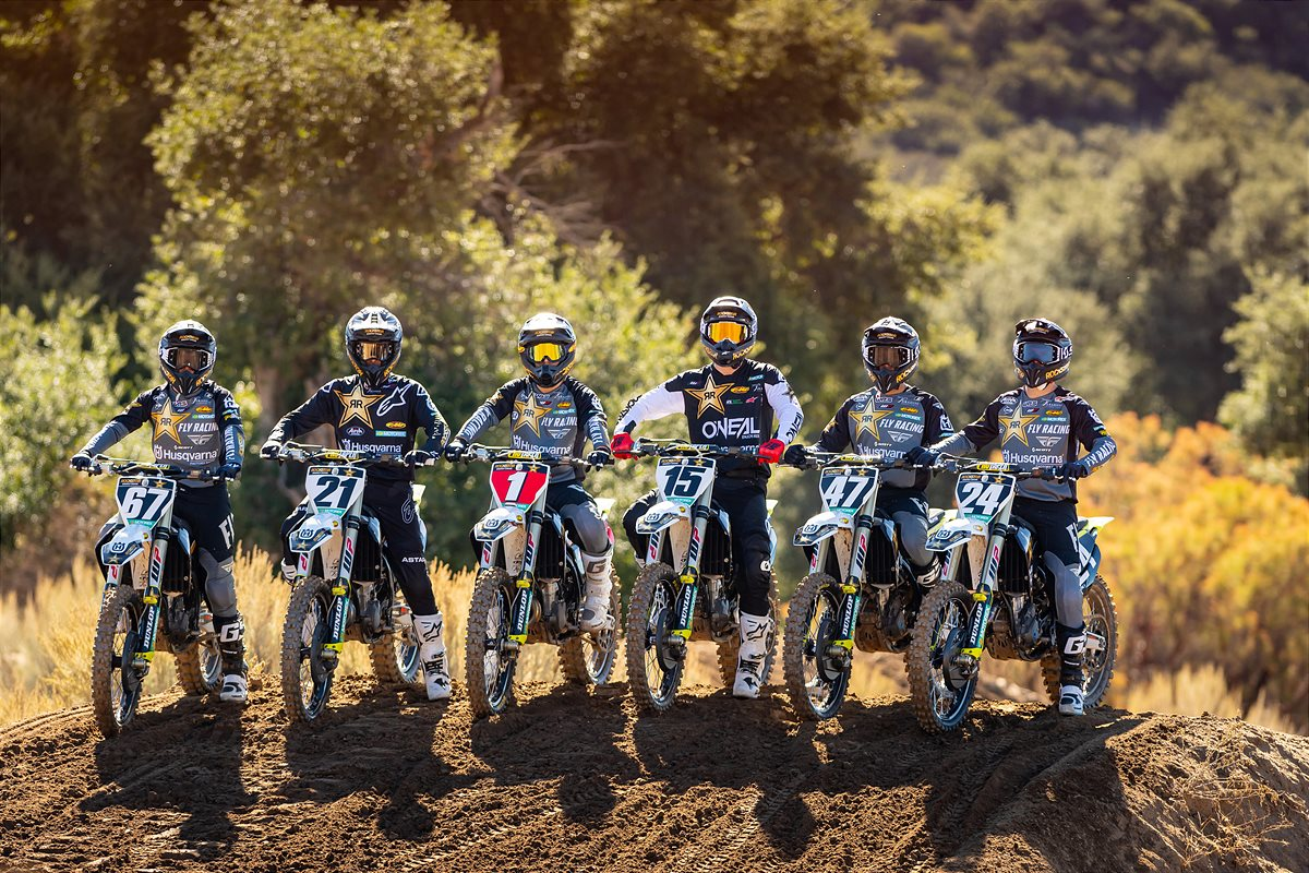 Rockstar Energy Husqvarna Factory Racing AMA SX Team
