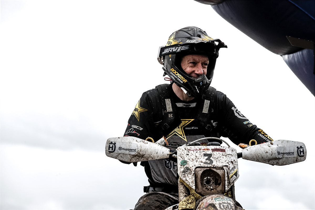 ROCKSTAR ENERGY HUSQVARNA FACTORY RACING EXTEND CONTRACT WITH GRAHAM JARVIS THROUGH 2021