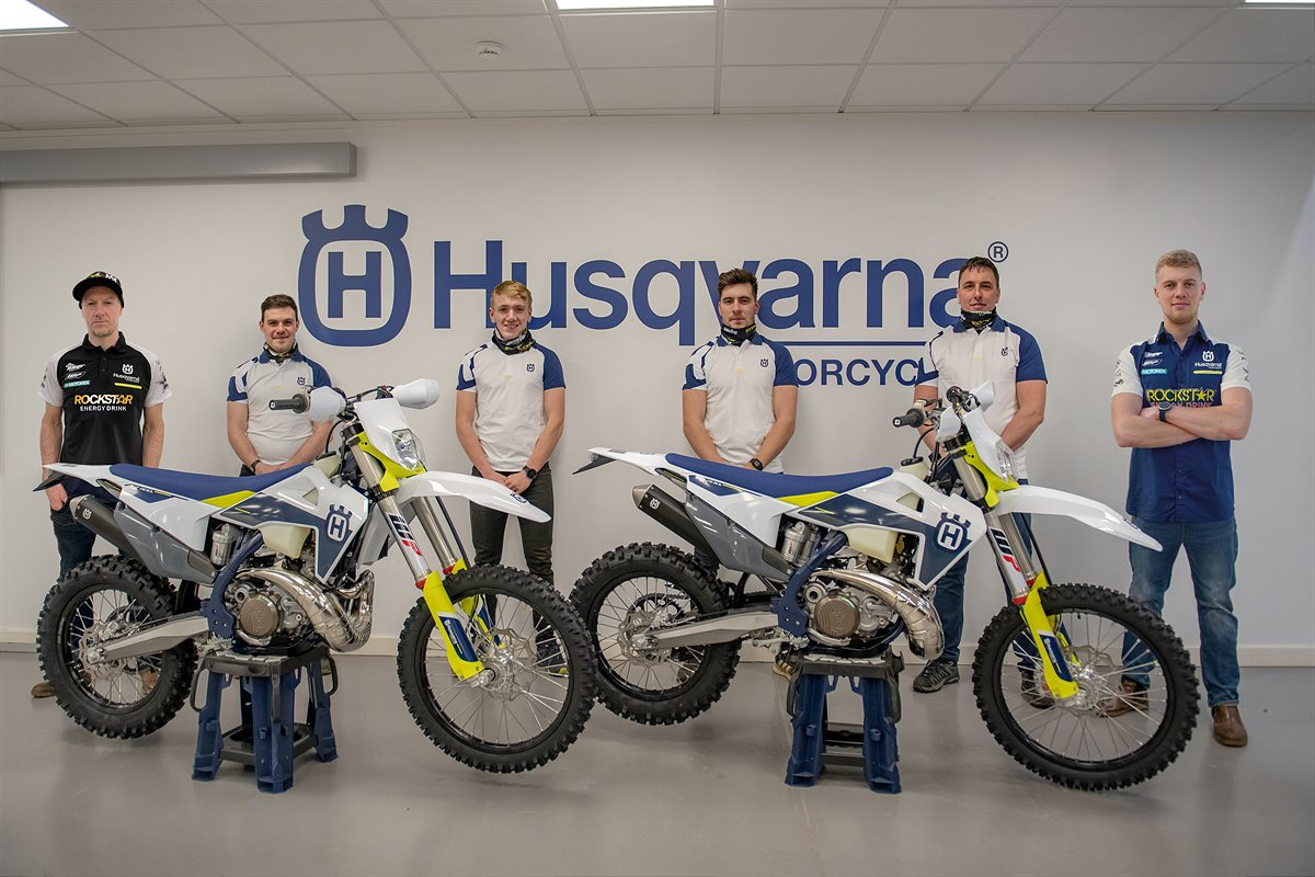 JARVIS HUSQVARNA RACING TEAM