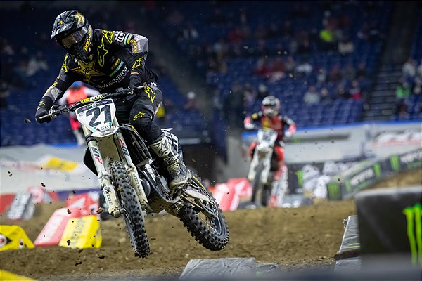 JASON ANDERSON RETURNS TO RACING WITH A SEASON-BEST FINISH OF SIXTH IN INDY
