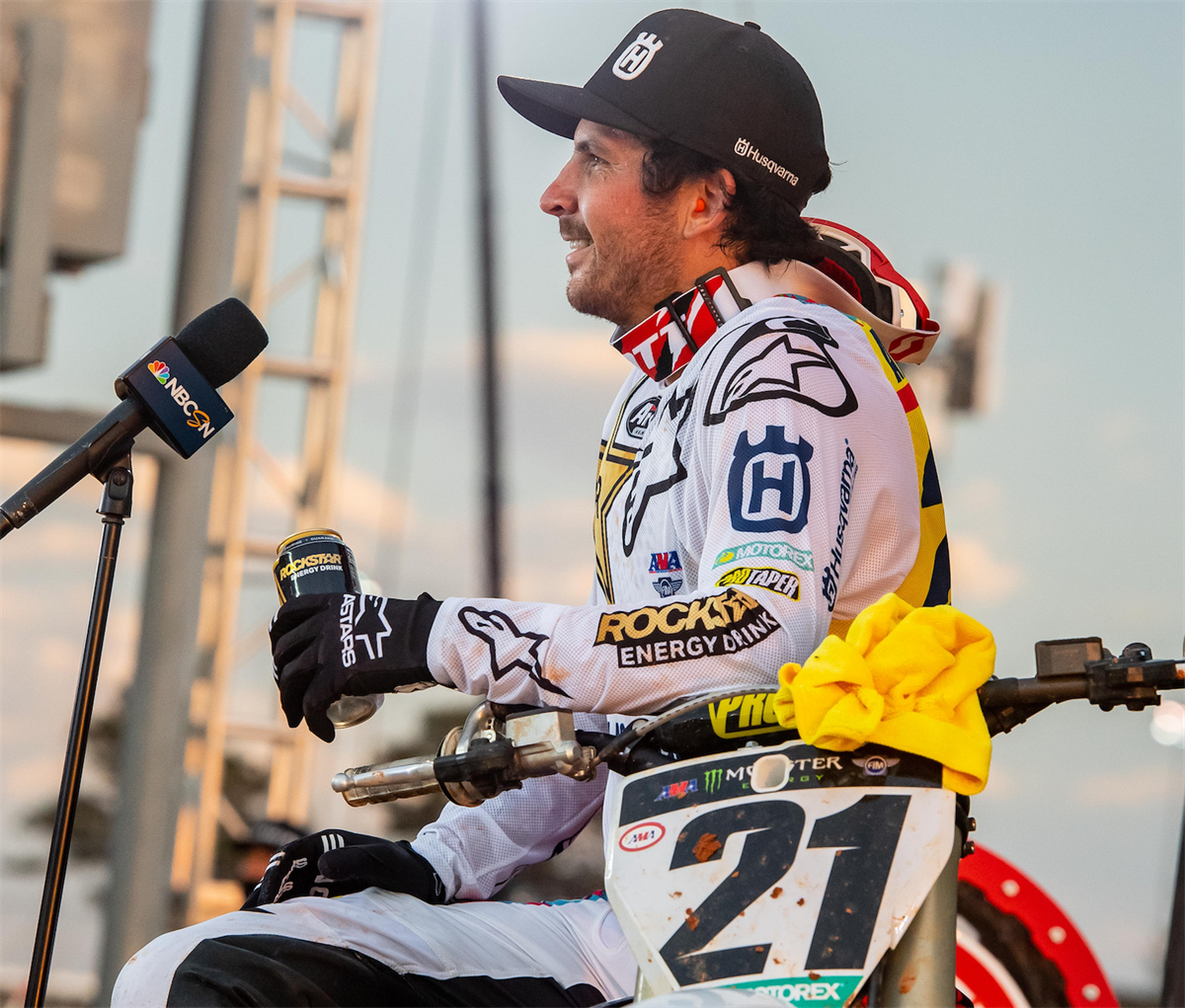JASON ANDERSON HEAT WIN RD15