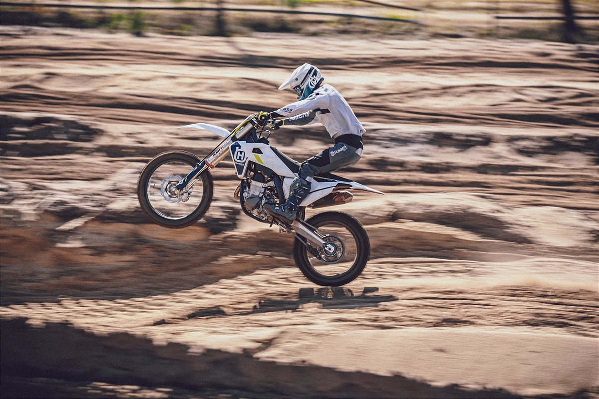 RIDE SMARTER WITH HUSQVARNA MOTORCYCLES 2022 MOTOCROSS MODELS